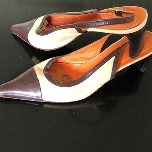 All leather Italian made Kenneth Cole saddle style
